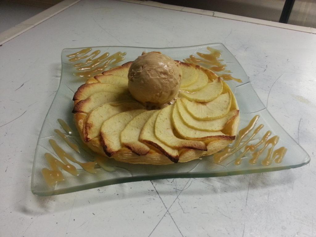 Tartes aux pommes du restaurant Atelier H à Quimperlé