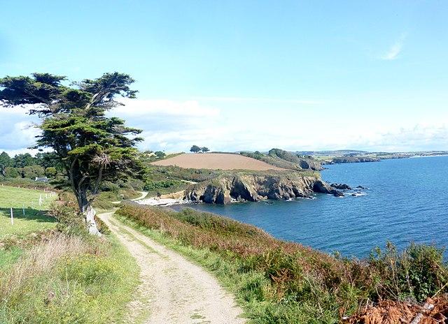 Sentier de randonnée GR34 en Bretagne