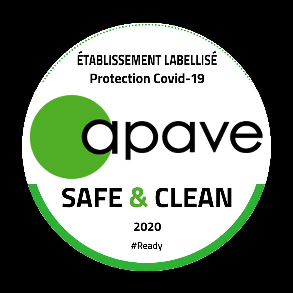 Label Safe & Clean de l'APAVE